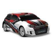 LaTrax Rally 1:18 4WD Fast Charger Red